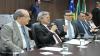 Presidente do TJGO, corregedor-geral e diretor do Foro de Goiânia abrem Reunião de Promoção da Estratégia
