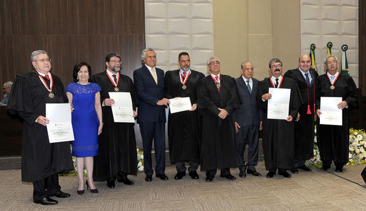 Tribunal de Justiça do Estado de Goiás empossa cinco novos desembargadores