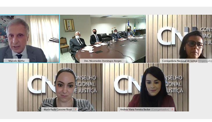 Encerrada nesta sexta-feira, 30, inspeção virtual do CNJ na Corregedoria, no âmbito do Extrajudicial