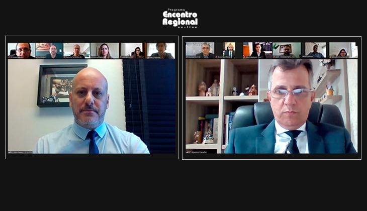 Painel jurídico, reunião com o Extrajudicial e leque de capacitações são destaques do segundo dia do Encontro Regional On-line