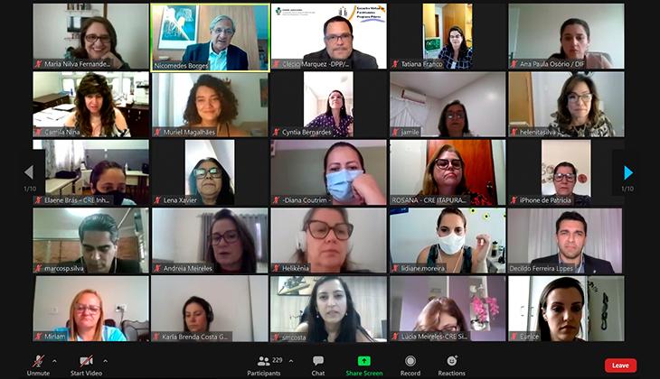 Projeto Pilares: educar pela paz e comunicação não violenta são motes do 1º Encontro Virtual de Facilitadores