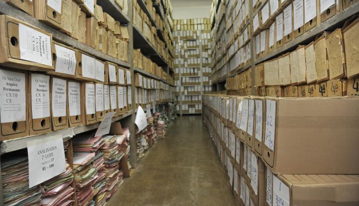TJGO realiza descarte de 30 mil processos judiciais das comarcas de Goiânia e Catalão
