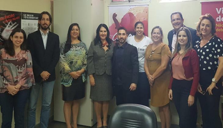 Representantes da Coordenadoria da Mulher, Corregedoria e da SGE se reúnem para definirem ações