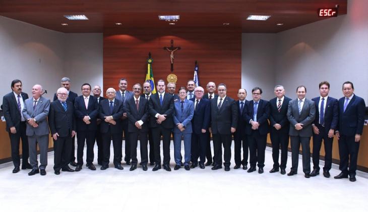 Walter Carlos participa de reunião com presidente do STF em Mato Grosso