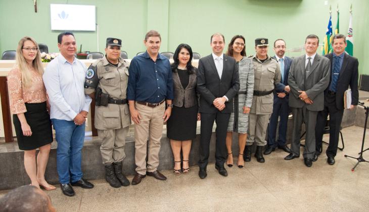 Lançado em Rio Verde o projeto Educação e Justiça: Lei Maria da Penha na Escola