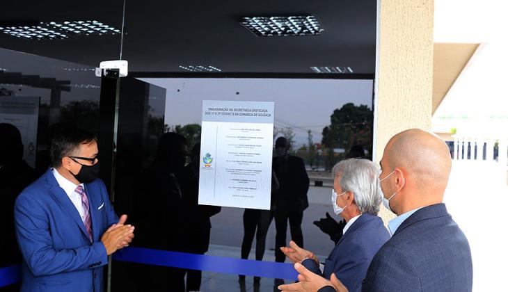 Presidente do TJGO inaugura espaço com 30 bancas de conciliação e anuncia que será muito útil à sociedade