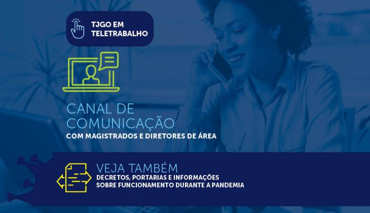 Elogio recebido pelo TJGO ressalta importância do atendimento remoto prestado por magistrados e servidores