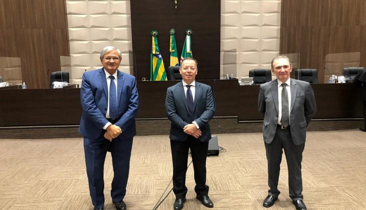 Eleitos dirigentes do TJGO para o biênio 2021/2023