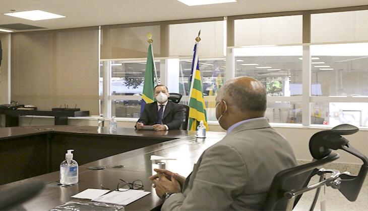 Presidente do TJGO recebe prefeito de Goiânia
