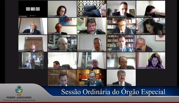 Presidente do TJGO e corregedor apresentam Plano de Gestão ao Órgão Especial