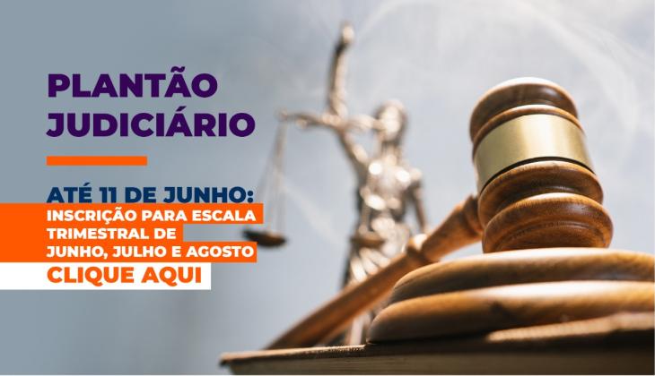 Presidência do TJGO regulamenta resolução sobre plantão judiciário; inscrições podem ser feitas até 11 de junho